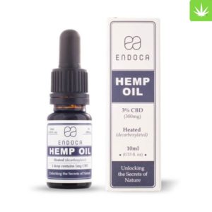 Hemp Oil Drops 300mg CBD (Cannabidiol) (3%)