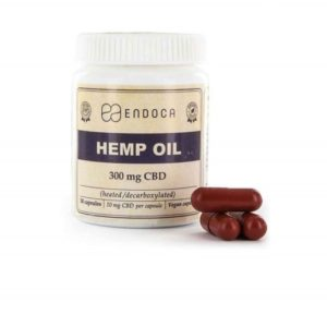Buy 30 CBD Hemp Oil Capsules 300mg
